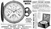 Pocket Watch, 1897 Print by Granger