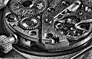 Mechanism Photo Originals - Pocket Watch Mechanism by Maxim Sivyi