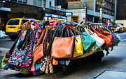6th Street Photo Posters - Pocketbooks and Purses Poster by Paul Ward