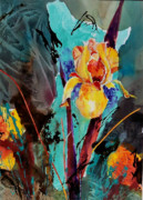 Corporate Painting Prints - Poetic Dawn 001 Print by Donna Frost