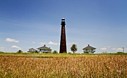 Canon 7d Prints - Point Bolivar Lighthouse Print by Scott Pellegrin