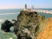 Marin County Originals - Point Bonita Lighthouse in Marin County California by Jim Sweida
