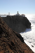Bonita Point Acrylic Prints - Point Bonita Lighthouse in The Marin Headlands - 5D19654 Acrylic Print by Wingsdomain Art and Photography