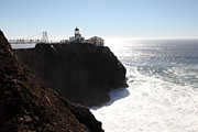 Bonita Point Acrylic Prints - Point Bonita Lighthouse in The Marin Headlands - 5D19655 Acrylic Print by Wingsdomain Art and Photography