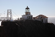 Bonita Point Photos - Point Bonita Lighthouse in The Marin Headlands - 5D19665 by Wingsdomain Art and Photography
