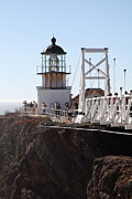 Bonita Point Art - Point Bonita Lighthouse in The Marin Headlands - 5D19667 by Wingsdomain Art and Photography