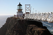 Bonita Point Acrylic Prints - Point Bonita Lighthouse in The Marin Headlands - 5D19671 Acrylic Print by Wingsdomain Art and Photography