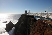 Bonita Point Acrylic Prints - Point Bonita Lighthouse in The Marin Headlands - 5D19673 Acrylic Print by Wingsdomain Art and Photography