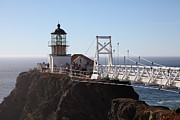 Bonita Point Acrylic Prints - Point Bonita Lighthouse in The Marin Headlands - 5D19697 Acrylic Print by Wingsdomain Art and Photography