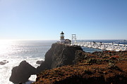Headlands Photos - Point Bonita Lighthouse in The Marin Headlands - 5D19700 by Wingsdomain Art and Photography