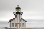 Famous Buildings Photos - Point Cabrillo Light Station - Mendocino CA by Christine Till