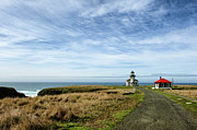 Road Travel Photo Prints - Point Cabrillo Print by Mark Zukowski