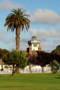 Lighthouses Originals - Point Fermin Light - San Pedro - Southern California by Christine Till