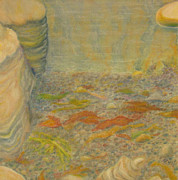 Earth Pastels - Point Lobos 5 by Marcia  Perry