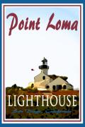 Point Loma Digital Art Prints - Point Loma Lighthouse Poster Print by Suzanne  Frie