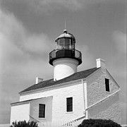 Medium Format Prints - Point Loma Lighthouse Print by Tanya Harrison