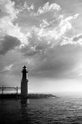Grey Clouds Prints - Point of Inspiration Print by Bill Pevlor