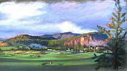 Golf Pastels - Point of View by Shirley Leswick
