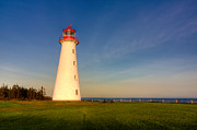 Prim Prints - Point Prim Lighthouse Print by Matt Dobson