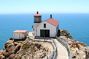 Headlands Photos - Point Reyes Lighthouse in California 7D15996 by Wingsdomain Art and Photography