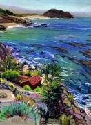 Coast Pastels - Point Sir by Donald Maier