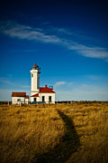 Strait Of Juan De Fuca Posters - Point Wilson Lighthouse Poster by Dan Mihai