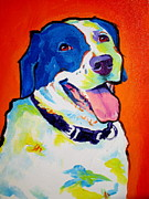 Dawgart Prints - Pointer - Causi Print by Alicia VanNoy Call