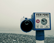 Pointlessness Is Pointing Telescope Print by Andy Teo aka Photocillin
