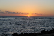 Hawaiin Framed Prints - Poipu Kauai sunset Framed Print by Randy Spitzer