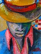 Chapeaux Paintings - Poker Player by Patty Meotti