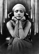 Diamond Bracelet Art - Pola Negri, Ca. Early 1920s by Everett