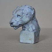 Animal Sculpture Originals - Polar Bear by Edward  Waites
