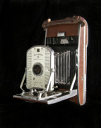 Film Camera Photo Prints - Polaroid 95a Land Camera Print by Michael Peychich