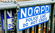 Linda Kish - Police Line Do Not Cross