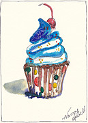 Michele Hollister - for Nancy Asbell - Polka Dot Cupcake