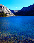 Mariposa County Prints - Polly Dome and Tenaya Lake CA Print by Troy Montemayor