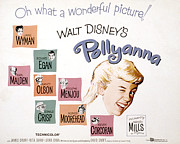 Wyman Prints - Pollyanna, Jane Wyman, Richard Egan Print by Everett