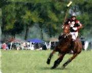 Polo Match Digital Art - Polo  by Michael Brown