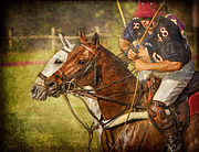 Sports Art Digital Art Originals - Polo Partners by Peter Hernandez