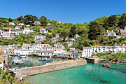 Kernow Framed Prints - Polperro Framed Print by Carl Whitfield