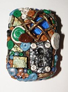 Megan Brandl - Polymer Clay Locket