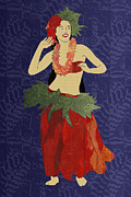 Oceania Digital Art - Polynesian Dancer by Janet Carlson