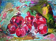 Pomegranades Paintings - Pomegranades by Emin Guliyev