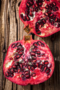 Food And Beverage Acrylic Prints - Pomegranate Acrylic Print by Garry Gay