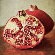 Pomegranate Posters - Pomegranate Poster by Pamela N. Martin