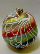 Rainbow Ceramics - Pomegranate by Yildiz Ibram