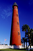 Ponce Framed Prints - Ponce de Leon Inlet Lighthouse Framed Print by TB Sojka
