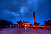 Framedart Prints - Ponce Inlet Light Station Print by Scott Helfrich
