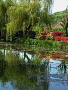 Eure Metal Prints - Pond At Giverny1 Metal Print by Danny Cieloha