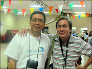 Pong And Glenn 2009 Print by Glenn Bautista
